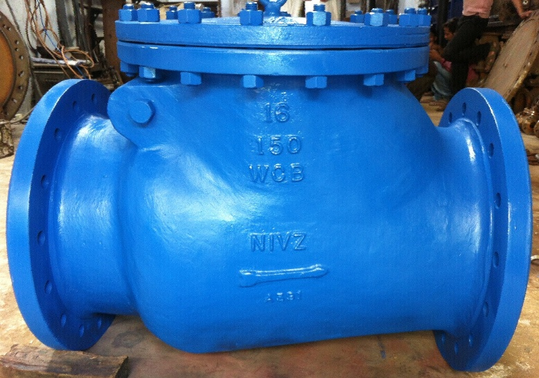 Swing Type Check Valve, Non Return Valve, Flanged End, Manufacturers, Exporters, Importers, Stockist, Suppliers