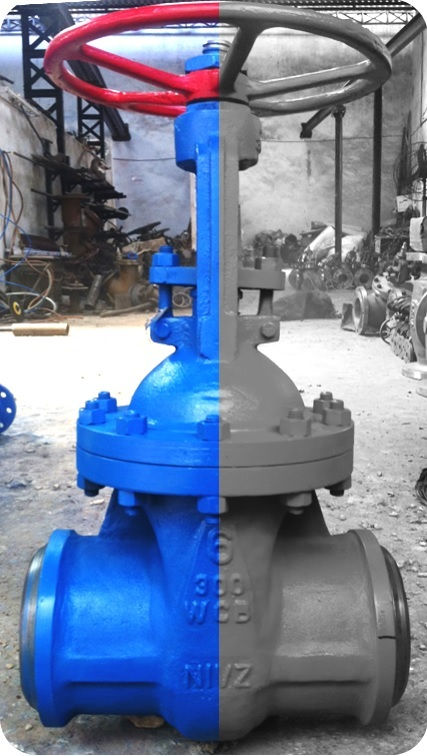 API 600/602/603/API6D Standard, Bolted Bonnet, Rising Stem, Gate Valve Hand Wheel Operated