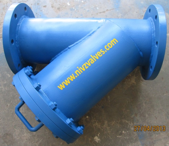 Fabricated Y Type Strainer