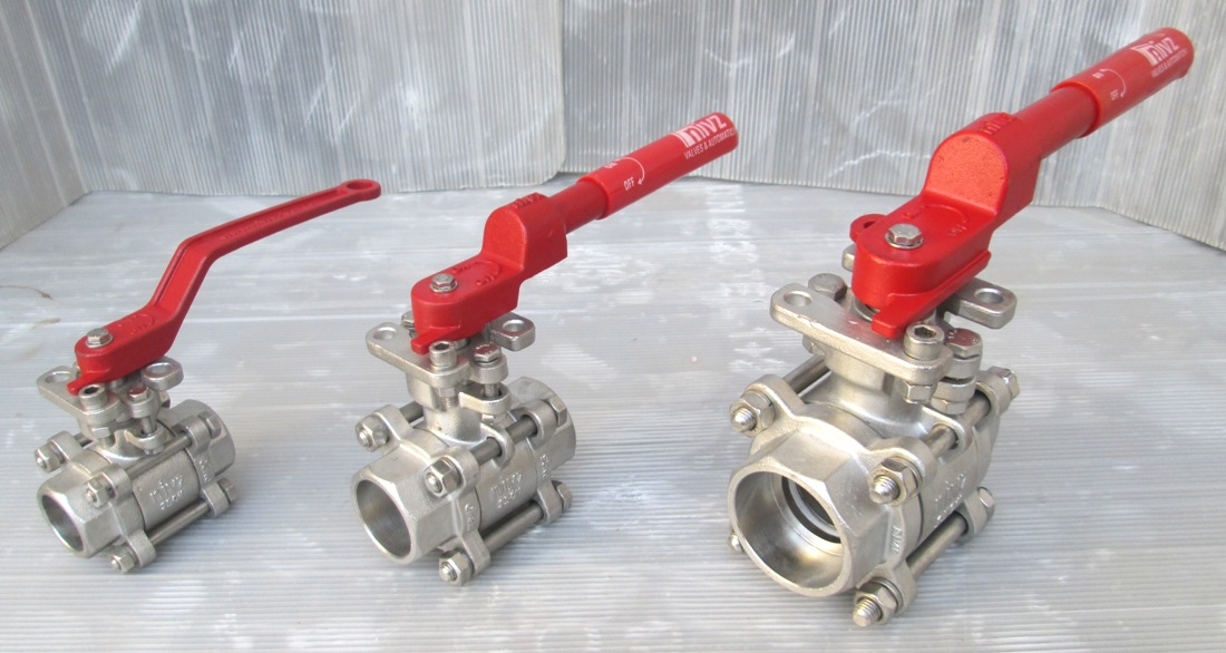 ISO 5211 Direct Mounting Pad Ball Valve