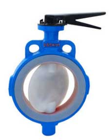 PFE FEP PFA Teflon Lined, Center Disc, Zero Leakage, Corrosion Free, Butterfly Valve, Manufacturers, Exporters, Importers, Stockist, Suppliers