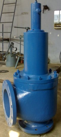 Pressure Safety Relief Valve Flanged End Manufacturer Exporter