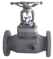 Hot Oil Jacketed Globe Valve Hand Wheel Operated