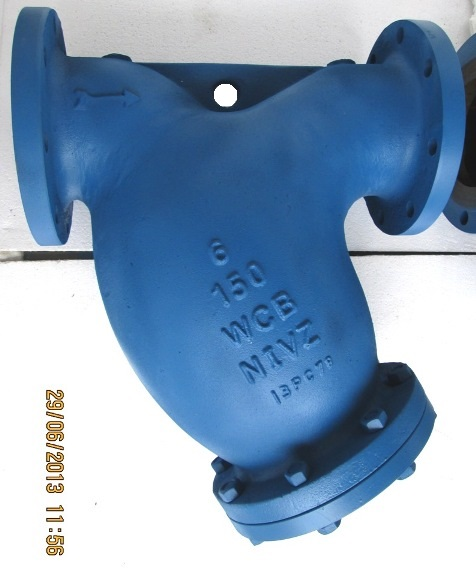 Bolted Cover Y Type Strainer Flanged End