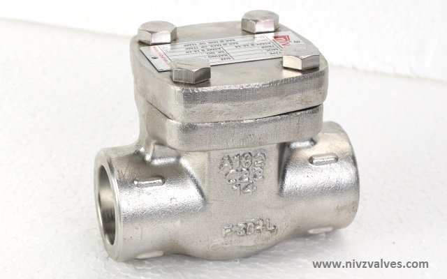 API602/BS532 Standard Forged Stainless Steel Piston Type Lift Check Valve, Threaded/Screwed (BSP/NPT)/Socket Weld End/Flanged End, Pressure Rating � Class300/600/800/1500, Body Material A105-Forged Carbon Steel /A 182 F304/316/304L/316L-SS 304/316/304L/316L